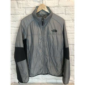 The North Face Gray Insulated Vortex Liner Jacket